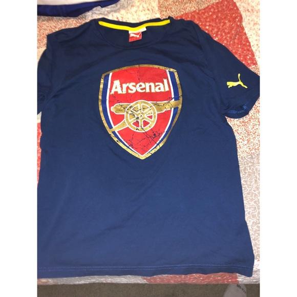 new arrival e5eab 1596a Arsenal Puma T shirt